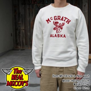 <img class='new_mark_img1' src='https://img.shop-pro.jp/img/new/icons15.gif' style='border:none;display:inline;margin:0px;padding:0px;width:auto;' />LOOPWHEEL SWEATSHIRT / MCGRATH スウェットシャツ