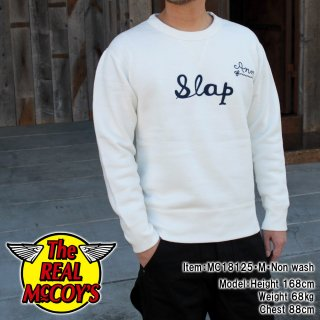 <img class='new_mark_img1' src='https://img.shop-pro.jp/img/new/icons14.gif' style='border:none;display:inline;margin:0px;padding:0px;width:auto;' />【18FW PRE-ORDER】LOOPWHEEL SWEATSHIRT / SLAP