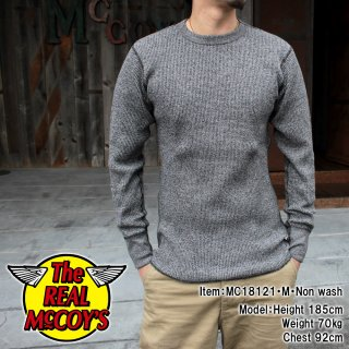 <img class='new_mark_img1' src='https://img.shop-pro.jp/img/new/icons15.gif' style='border:none;display:inline;margin:0px;padding:0px;width:auto;' />HEATHER WAFFLE THERMAL SHIRT L/S サーマルシャツ