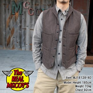 <img class='new_mark_img1' src='https://img.shop-pro.jp/img/new/icons15.gif' style='border:none;display:inline;margin:0px;padding:0px;width:auto;' />DOUBLE DIAMOND NEP WOOL LAPEL VEST ベスト
