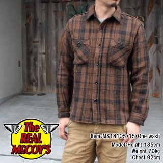 <img class='new_mark_img1' src='https://img.shop-pro.jp/img/new/icons15.gif' style='border:none;display:inline;margin:0px;padding:0px;width:auto;' />8HU HEAVY FLANNEL BLANKET SHIRT ネルシャツ