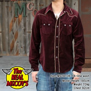 <img class='new_mark_img1' src='https://img.shop-pro.jp/img/new/icons15.gif' style='border:none;display:inline;margin:0px;padding:0px;width:auto;' />JM VELVET WESTERN SHIRT ベルベットウエスタンシャツ