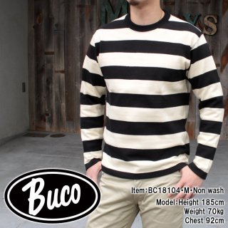 <img class='new_mark_img1' src='https://img.shop-pro.jp/img/new/icons14.gif' style='border:none;display:inline;margin:0px;padding:0px;width:auto;' />【18FW PRE-ORDER】BUCO STRIPE RACING JERSEY