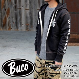 <img class='new_mark_img1' src='https://img.shop-pro.jp/img/new/icons15.gif' style='border:none;display:inline;margin:0px;padding:0px;width:auto;' />BUCO F/Z SWEATSHIRT / ENGINEER フルジップスウェットシャツ