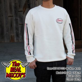 <img class='new_mark_img1' src='https://img.shop-pro.jp/img/new/icons15.gif' style='border:none;display:inline;margin:0px;padding:0px;width:auto;' />BUCO PADDED SWEATSHIRT / BUCO LOGO スウェットシャツ