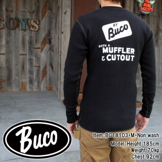 <img class='new_mark_img1' src='https://img.shop-pro.jp/img/new/icons15.gif' style='border:none;display:inline;margin:0px;padding:0px;width:auto;' />BUCO THERMAL SHIRT / MUFFLER & CUTOUT サーマルシャツ