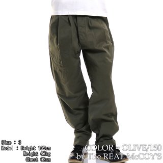 <img class='new_mark_img1' src='https://img.shop-pro.jp/img/new/icons15.gif' style='border:none;display:inline;margin:0px;padding:0px;width:auto;' />GURKHA TROUSERS トラウザー