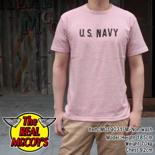 <img class='new_mark_img1' src='https://img.shop-pro.jp/img/new/icons14.gif' style='border:none;display:inline;margin:0px;padding:0px;width:auto;' />【PRE-ORDER】MILITARY RAYON COTTON TEE / U.S. NAVY