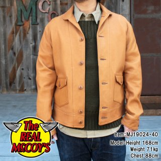<img class='new_mark_img1' src='https://img.shop-pro.jp/img/new/icons15.gif' style='border:none;display:inline;margin:0px;padding:0px;width:auto;' />30's SPORTS JACKET / DILLINGER ディアスキン スポーツジャケット 鹿革 レザージャケット 革ジャン