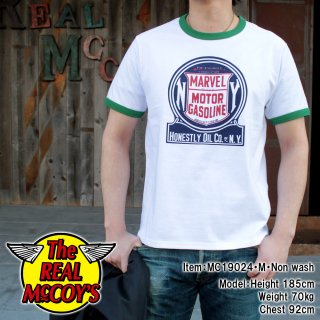 <img class='new_mark_img1' src='https://img.shop-pro.jp/img/new/icons15.gif' style='border:none;display:inline;margin:0px;padding:0px;width:auto;' />JOE MCCOY TEE / MARVEL MOTOR GASOLINE Tシャツ