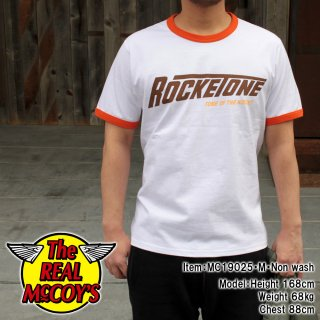 <img class='new_mark_img1' src='https://img.shop-pro.jp/img/new/icons15.gif' style='border:none;display:inline;margin:0px;padding:0px;width:auto;' />JOE MCCOY TEE / ROCKETONE Tシャツ