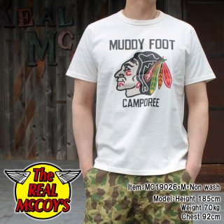 <img class='new_mark_img1' src='https://img.shop-pro.jp/img/new/icons15.gif' style='border:none;display:inline;margin:0px;padding:0px;width:auto;' />JOE MCCOY TEE / MUDDY FOOT Tシャツ