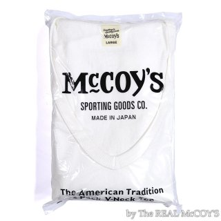 <img class='new_mark_img1' src='https://img.shop-pro.jp/img/new/icons15.gif' style='border:none;display:inline;margin:0px;padding:0px;width:auto;' />McCOY'S V-NECK 2pcs PACK TEE S/S Tシャツ