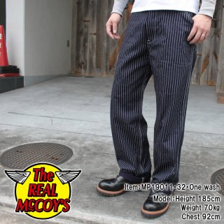 <img class='new_mark_img1' src='https://img.shop-pro.jp/img/new/icons15.gif' style='border:none;display:inline;margin:0px;padding:0px;width:auto;' />8HU INDIGO WABASH STRIPE TROUSERS トラウザー