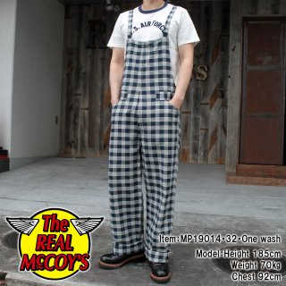 <img class='new_mark_img1' src='https://img.shop-pro.jp/img/new/icons15.gif' style='border:none;display:inline;margin:0px;padding:0px;width:auto;' />8HU INDIGO FLANNEL CHECK OVERALL オーバーオール