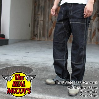 <img class='new_mark_img1' src='https://img.shop-pro.jp/img/new/icons15.gif' style='border:none;display:inline;margin:0px;padding:0px;width:auto;' />8HU DENIM DOUBLE-KNEE WORK TROUSERS トラウザー ペインターパンツ デニム
