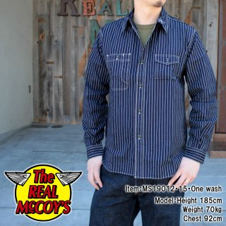 <img class='new_mark_img1' src='https://img.shop-pro.jp/img/new/icons15.gif' style='border:none;display:inline;margin:0px;padding:0px;width:auto;' />8HU INDIGO WABASH STRIPE WORK SHIRT L/S シャツ