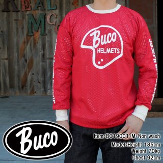 <img class='new_mark_img1' src='https://img.shop-pro.jp/img/new/icons15.gif' style='border:none;display:inline;margin:0px;padding:0px;width:auto;' />BUCO RACING MESH JERSEY / OFFICIAL BUCO メッシュ ジャージー ロンT