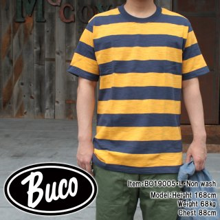 <img class='new_mark_img1' src='https://img.shop-pro.jp/img/new/icons14.gif' style='border:none;display:inline;margin:0px;padding:0px;width:auto;' />【PRE-ORDER】BUCO STRIPE TEE S/S