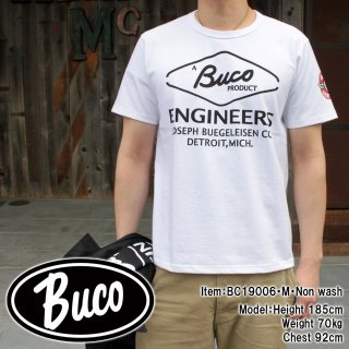 <img class='new_mark_img1' src='https://img.shop-pro.jp/img/new/icons15.gif' style='border:none;display:inline;margin:0px;padding:0px;width:auto;' />BUCO TEE / ENGINEERS Tシャツ