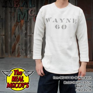 <img class='new_mark_img1' src='https://img.shop-pro.jp/img/new/icons15.gif' style='border:none;display:inline;margin:0px;padding:0px;width:auto;' />MILITARY FOOTBALL TEE / WAYNE 七分袖 フットボールTシャツ