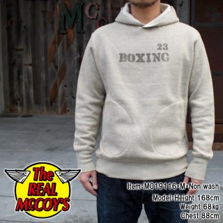 <img class='new_mark_img1' src='https://img.shop-pro.jp/img/new/icons14.gif' style='border:none;display:inline;margin:0px;padding:0px;width:auto;' />【PRE-ORDER】30s HOODED SWEATSHIRT / BOXING