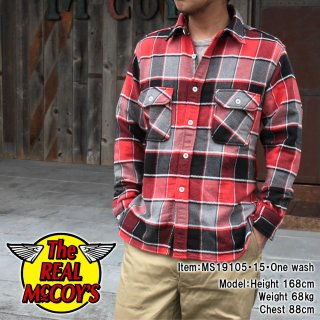 <img class='new_mark_img1' src='https://img.shop-pro.jp/img/new/icons14.gif' style='border:none;display:inline;margin:0px;padding:0px;width:auto;' />【PRE-ORDER】8HU NAPPED FLANNEL SHIRT / TONGASS PLAID