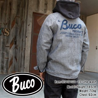 <img class='new_mark_img1' src='https://img.shop-pro.jp/img/new/icons15.gif' style='border:none;display:inline;margin:0px;padding:0px;width:auto;' />BUCO MECHANIC WORK SHIRT / A BUCO PRODUCT ワークシャツ