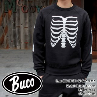 <img class='new_mark_img1' src='https://img.shop-pro.jp/img/new/icons15.gif' style='border:none;display:inline;margin:0px;padding:0px;width:auto;' />BUCO SWEATSHIRT / BONES ボーン スウェット