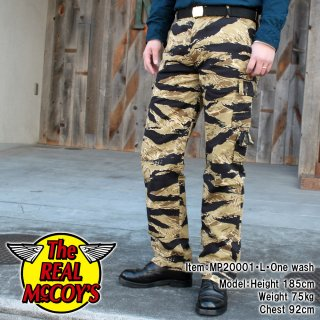 <img class='new_mark_img1' src='https://img.shop-pro.jp/img/new/icons15.gif' style='border:none;display:inline;margin:0px;padding:0px;width:auto;' />TIGER CAMOUFLAGE TROUSERS / GOLD TONE ゴールドタイガーカモ トラウザーズ カーゴパンツ