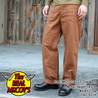 <img class='new_mark_img1' src='https://img.shop-pro.jp/img/new/icons15.gif' style='border:none;display:inline;margin:0px;padding:0px;width:auto;' />WW1 BROWN FATIGUE TROUSERS ブラウンデニム ファティーグパンツ トラウザー ミリタリーパンツ