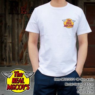 <img class='new_mark_img1' src='https://img.shop-pro.jp/img/new/icons15.gif' style='border:none;display:inline;margin:0px;padding:0px;width:auto;' />THE REAL McCOY'S LOGO TEE S/S 半袖Tシャツ