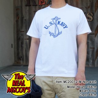 <img class='new_mark_img1' src='https://img.shop-pro.jp/img/new/icons15.gif' style='border:none;display:inline;margin:0px;padding:0px;width:auto;' />【PRE-ORDER】MILITARY TEE / U.S. NAVY ANCHOR