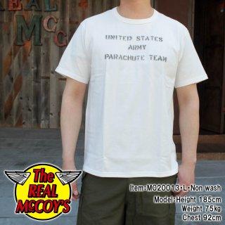 MILITARY TEE / U.S. ARMY PARACHUTE TEAM ミリタリーTシャツ 半袖Tシャツ バインダーネック
