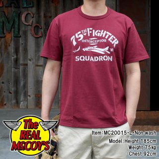 <img class='new_mark_img1' src='https://img.shop-pro.jp/img/new/icons15.gif' style='border:none;display:inline;margin:0px;padding:0px;width:auto;' />【PRE-ORDER】MILITARY TEE / 75th FIGHTER SQUADRON