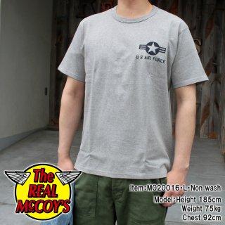 MILITARY TEE / U.S. AIR FORCE ミリタリーTシャツ 半袖Tシャツ バインダーネック