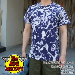 <img class='new_mark_img1' src='https://img.shop-pro.jp/img/new/icons15.gif' style='border:none;display:inline;margin:0px;padding:0px;width:auto;' />WOODSTOCK PRINT TEE ウッドストック プリントTシャツ 半袖Tシャツ 総柄