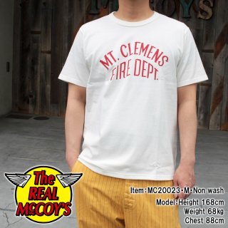 <img class='new_mark_img1' src='https://img.shop-pro.jp/img/new/icons15.gif' style='border:none;display:inline;margin:0px;padding:0px;width:auto;' />【PRE-ORDER】JOE McCOY TEE / MT. CLEMENS