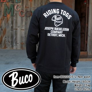 <img class='new_mark_img1' src='https://img.shop-pro.jp/img/new/icons15.gif' style='border:none;display:inline;margin:0px;padding:0px;width:auto;' />【PRE-ORDER】BUCO L/S TEE / RIDING TOGS