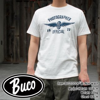 <img class='new_mark_img1' src='https://img.shop-pro.jp/img/new/icons15.gif' style='border:none;display:inline;margin:0px;padding:0px;width:auto;' />【PRE-ORDER】BUCO LW TEE / PHOTOGRAPHER 1973