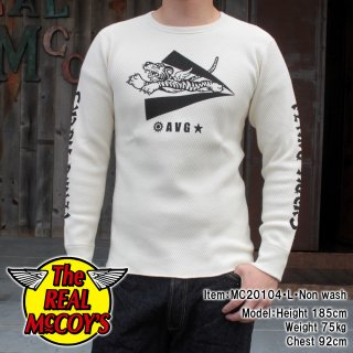 <img class='new_mark_img1' src='https://img.shop-pro.jp/img/new/icons15.gif' style='border:none;display:inline;margin:0px;padding:0px;width:auto;' />MILITARY PRINT THERMAL SHIRT FLYING TIGERS ミリタリーサーマルシャツ ロンT フライングタイガース