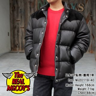 <img class='new_mark_img1' src='https://img.shop-pro.jp/img/new/icons15.gif' style='border:none;display:inline;margin:0px;padding:0px;width:auto;' />DEERSKIN DOWN JACKET (BLACK) ディアスキンダウンジャケット 鹿革 レザーダウンジャケット