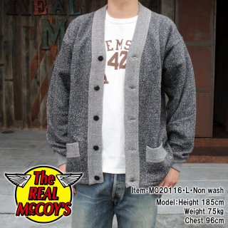 <img class='new_mark_img1' src='https://img.shop-pro.jp/img/new/icons15.gif' style='border:none;display:inline;margin:0px;padding:0px;width:auto;' />SALT & PEPPER COTTON CARDIGAN コットンカーディガン ごま塩