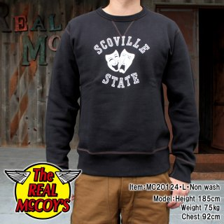 <img class='new_mark_img1' src='https://img.shop-pro.jp/img/new/icons15.gif' style='border:none;display:inline;margin:0px;padding:0px;width:auto;' />LOOPWHEEL SWEATSHIRT / SCOVILLE スウェットシャツ ループウィール 吊り編み