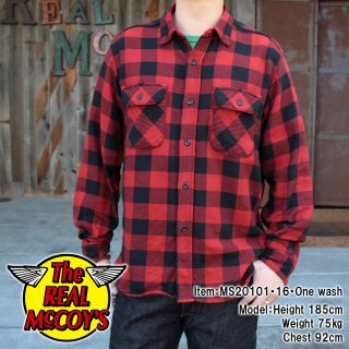 <img class='new_mark_img1' src='https://img.shop-pro.jp/img/new/icons15.gif' style='border:none;display:inline;margin:0px;padding:0px;width:auto;' />8HU BUFFALO CHECK FLANNEL SHIRT バッファローチェックフランネルシャツ ネルシャツ 長袖シャツ