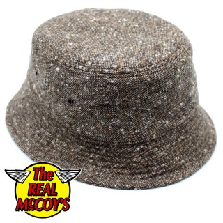 <img class='new_mark_img1' src='https://img.shop-pro.jp/img/new/icons15.gif' style='border:none;display:inline;margin:0px;padding:0px;width:auto;' />【PRE-ORDER】TWEED BUCKET HAT