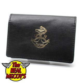 <img class='new_mark_img1' src='https://img.shop-pro.jp/img/new/icons15.gif' style='border:none;display:inline;margin:0px;padding:0px;width:auto;' />McCOY'S HORSEHIDE CARD HOLDER USN カードホルダー カードケース 名刺入れ ホースハイド 馬革