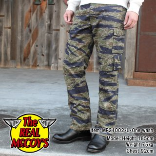 <img class='new_mark_img1' src='https://img.shop-pro.jp/img/new/icons15.gif' style='border:none;display:inline;margin:0px;padding:0px;width:auto;' />TIGER CAMOUFLAGE TROUSERS / TADPOLE カーゴパンツ タイガーストライプ タッドポール