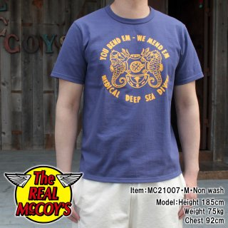 <img class='new_mark_img1' src='https://img.shop-pro.jp/img/new/icons15.gif' style='border:none;display:inline;margin:0px;padding:0px;width:auto;' />MILITARY TEE / MEDICAL DEEP SEA DIVERS ミリタリーTシャツ 半袖Tシャツ バインダーネック