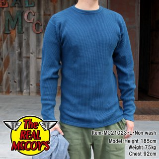 <img class='new_mark_img1' src='https://img.shop-pro.jp/img/new/icons15.gif' style='border:none;display:inline;margin:0px;padding:0px;width:auto;' />TUBE KNIT THERMAL L/S (HAND DYED INDIGO) チューブニットサーマルTシャツ 長袖Tシャツ ロンT インディゴ染め